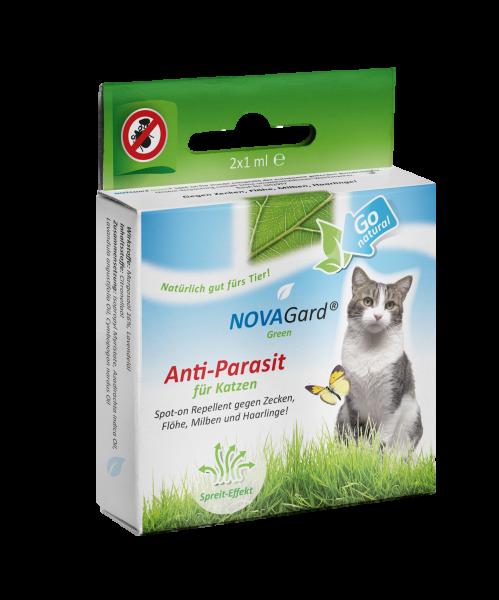 NOVAGard Green® Anti-Parasit (für Katzen) Spot-on 2 x 1ml