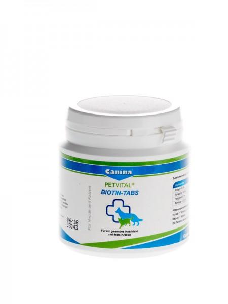 PETVITAL® BIOTIN-TABS 100g (ca. 50 Tabletten)