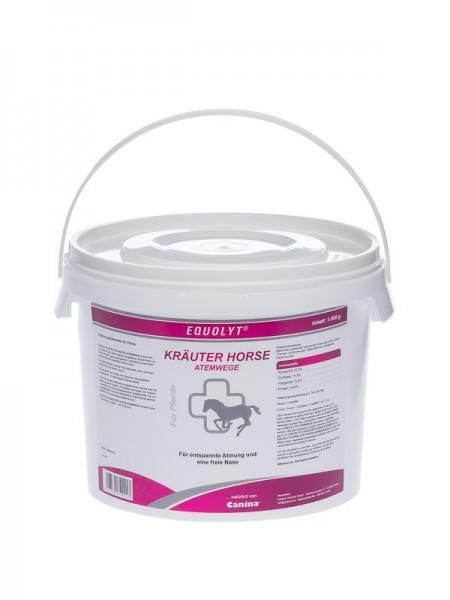 EQUOLYT® KRÄUTER HORSE ATEMWEGE 1.000g