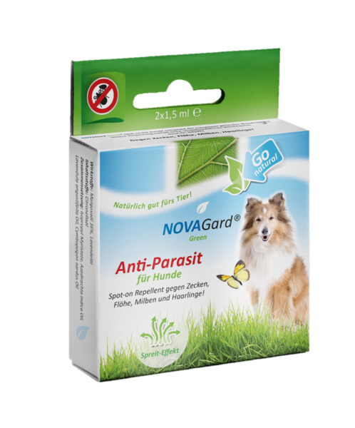 NOVAGard Green® Anti-Parasit (für Hunde) Spot-on 2 x 1,5ml