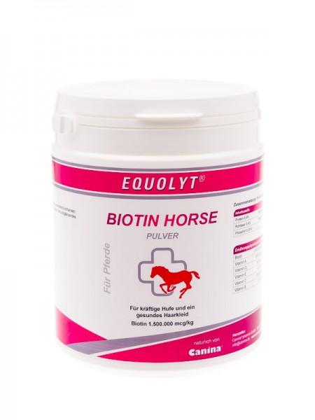 EQUOLYT® BIOTIN HORSE PULVER 500g