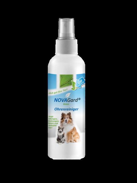 NovaGard Green® Ohrenreiniger für Katzen und Hunde