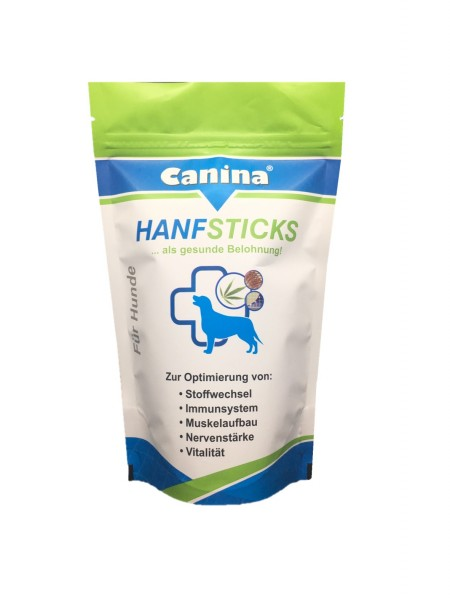 Canina® HanfSticks 200g vorne