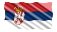 Fahne-Serbien-k