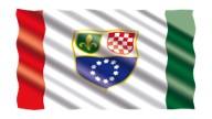 Fahne-Bosnien-Herzegowina-k